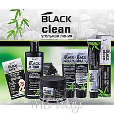 """Витэкс """"Black Clean"""" Зубная паста Отбеливание и укрепление эмали Угольная линия 85г, фото 3"""