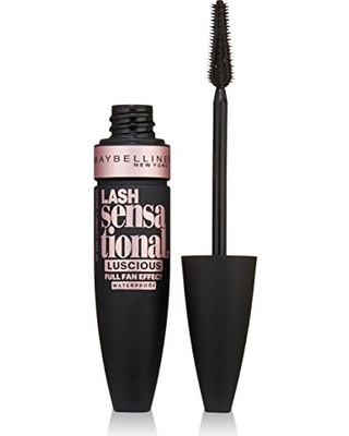 Тушь для ресниц Maybelline Lash Sensational Luscious Mascara black