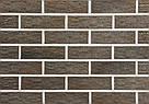 Клинкерный кирпич Hobart Roben коричневый рифленый, фото 2