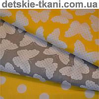 Ткани-компаньоны серо-желтого цвета.