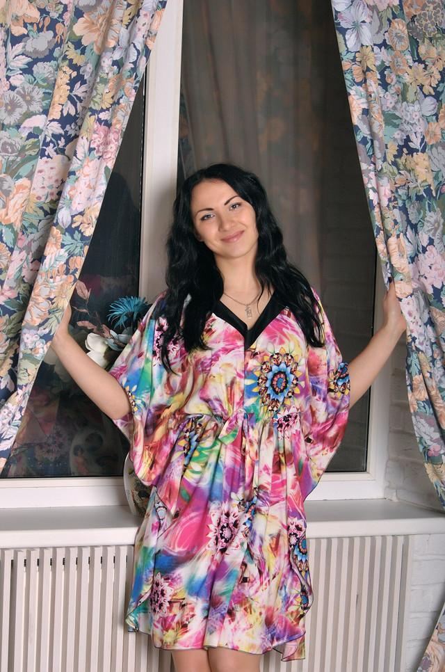 Летнее женское платье для дома