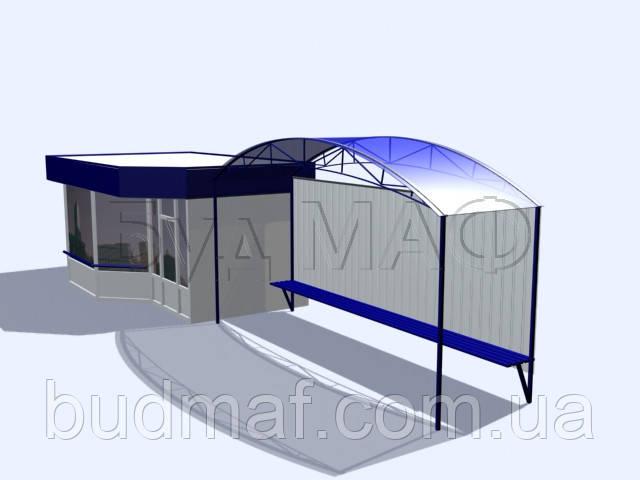 Строительство остановочных павильонов