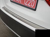 Накладка на бампер BMW X1  2009-