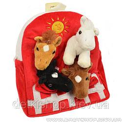 Дитячий рюкзак «Конячки»