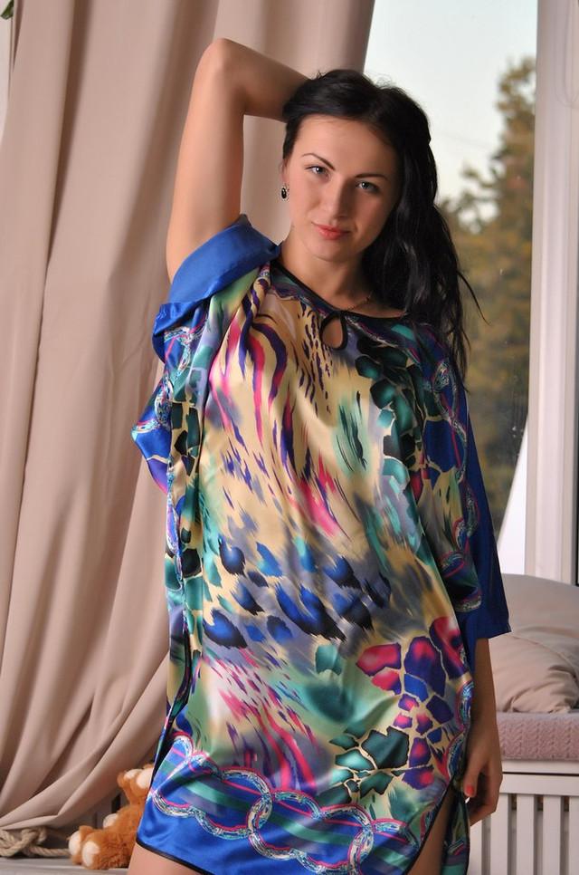 Интересное кимоно женское  для дома