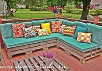 Подушки и матрасы для ресторанов для мебели из поддонов  4