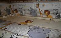 """Детское постельное белье из 6 ед.(без балдахина и кармана)- """"Мадагаскар"""""""