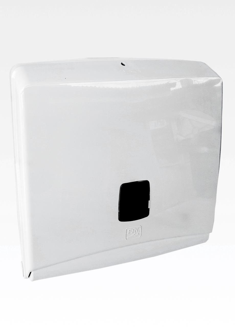 Диспенсер для листовых бумажных полотенец АБС пластик, 9294 белый глянец