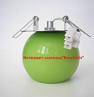 Точечный светильник встраиваемый CT-F 1702 цвет зеленый G4