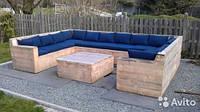 Подушки и матрасы для деревянной мебели  12