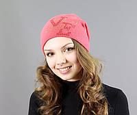Необычная женская шапка