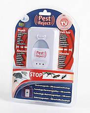 Ультразвуковий відлякувач гризунів та комах Pest Reject, фото 3