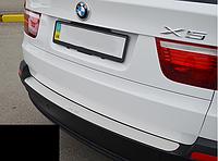 Накладка на бампер BMW X5 II (E70)  2006-