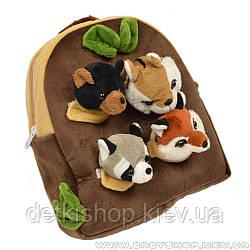 Дитячий рюкзак «Лісові тварини»