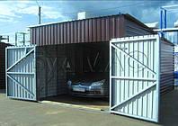 Производство гаражей из профлиста