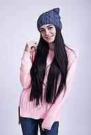 Стильная молодежная шапка
