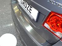 Накладка на бампер Chevrolet Cruze 4D 2008-