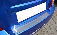 Накладка на бампер Chevrolet Aveo III 4D 2011-