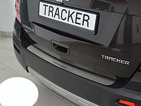 Накладка на бампер Chevrolet Tracker  2013-