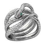 Кільце жіноче срібна Змія 211280, фото 3