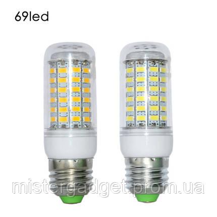 Лампа Диодная LED E27 5730 69-диодов 25W, фото 2