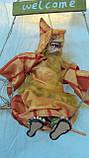 Кукла Баба-яга декоративная длина 42 см, фото 2