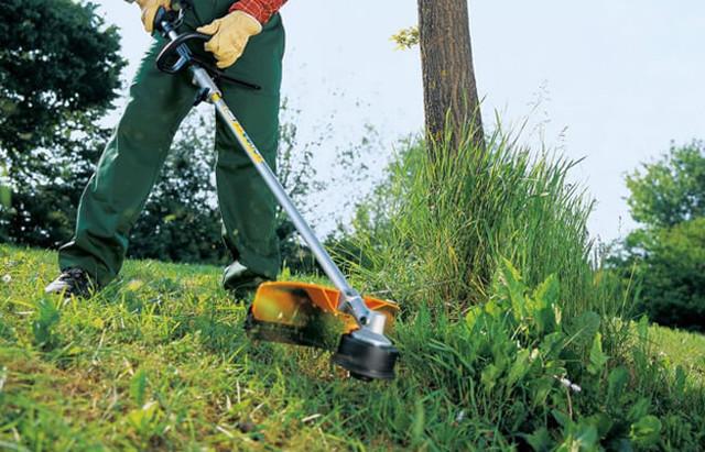 Как выбрать бензиновый триммер для травы