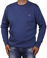 Свитер мужской большого размера Gant-37-1BAT(4XL-6XL) синий