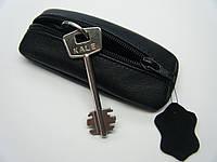 """Ключница чехол для ключей """"Классика"""" 13 см. ручная работа"""