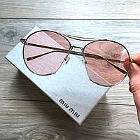 Очки женские Linda Farrow Monic розовые, имиджевые очки