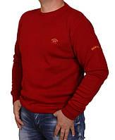 Свитер мужской Paul & Shark-01-1Bat(4XL-6XL) красный