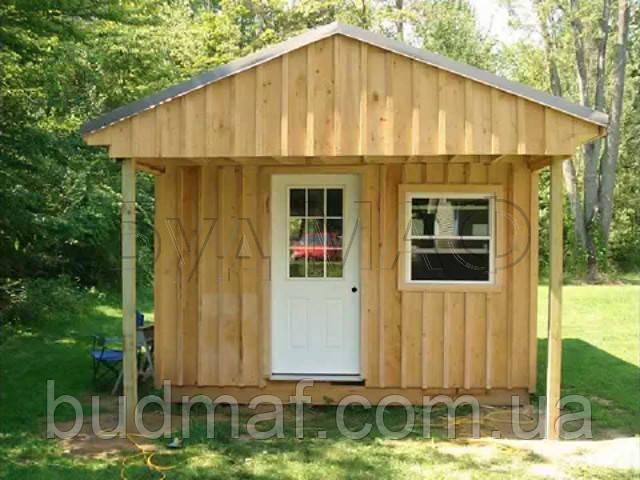 Строительство деревянных дачных домиков