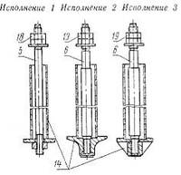 Болты фундаментные съемные М24-М48 (тип 4)