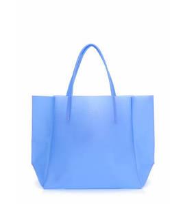 Женская силиконовая сумка Poolparty Soho голубая