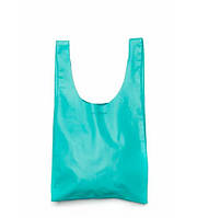 Женская кожаная сумка POOLPARTY LEATHER TOTE BLUE голубая