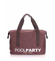 Спортивная сумка Poolparty Original коричневая