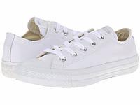 Мужские кеды Converse Chuck Taylor All Star (конверс) низкие белые
