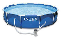 Бассейн Intex 28212/56996 Metal Frame Pool Ø 366х76 см