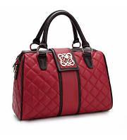 Женская кожаная сумка Eter красная