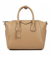 Женская кожаная сумка So stylish4 бежевая