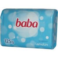 Детское мыло Baba lanolin 125г  Баба