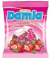Жевательная конфета TAYAS Damla Strawberry 90г клубника