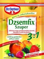 Загуститель для варьеня, повидла Dzsemfix Dr. Oetker 3*25г