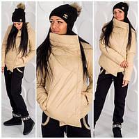 Женская куртка на силиконе н-40031
