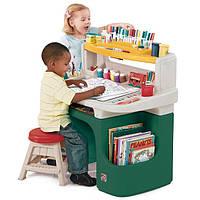 Нужно ли покупать детские столы-парты для творчества  Step 2 и Little Tikes ?