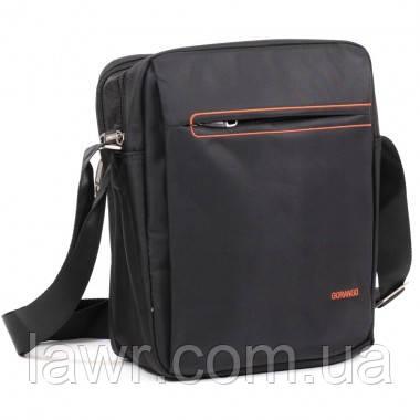 a434dd2114b6 Мужская сумка через плечо Gorangd 7893 Black - Интернет-магазин