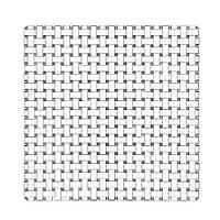 Тарелка квадратная 28 см  Nachtmann Bossa Nova 91315