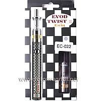 Электронная сигарета EVOD Twist III 3 Aerotank M16 Micro USB 1600mah EC-022 Silver (магазин электронных сигаре
