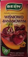 Чай фруктовый Belin  со вкусом вишни-банана , 20 пак