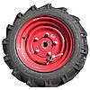 509.046.6020-01-2Т Колесо опорно-приводное ВЕСТА с шиной (правое) с кронштейном